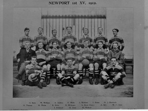 pop evans 1912 team photo